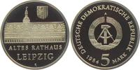 5 Mark 1984 DDR Altes Rathaus Leipzig PP  29,00 EUR