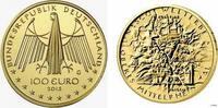 100 Euro 2015 G Deutschland Obersmittel-Rheintal st mit Box + Zertifikat  629,00 EUR