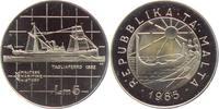 5 Liri 1985 Malta Segelschiff - Schiffe - Tagliaferro (1882) PP  39,95 EUR