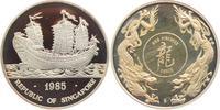 1 Unze 1985 S Singapur Segelschiff - Dau PP  49,00 EUR