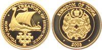 10 Pa Anga 2003 Tonga Wikinger Schiff PP  59,00 EUR