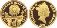 10 Dollar 2006 Cook Inseln Kopf des Apachenhäuptlings PP  59,00 EUR