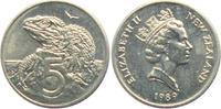 5 Pence 1989 Neuseeland Leguan - Echse unc.  4,95 EUR
