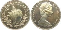 1 Dollar 1970 Bahamas Schnecke - Meeresschnecke - Riesenflüfelschnecke ... 22,00 EUR