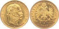 8 Florin/ 20 Franken 1889 Österreich - Haus Habsburg Franz Joseph I. (1... 329,00 EUR  zzgl. 6,95 EUR Versand