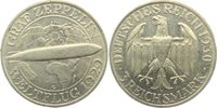 3 Mark 1930 G Weimar Zeppelin vz  87,00 EUR  zzgl. 6,95 EUR Versand