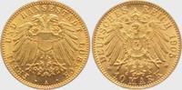 10 Mark 1905 A Lübeck Stadtwappen vz/st  3995,00 EUR kostenloser Versand