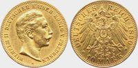 10 Mark 1890 A Preussen Kaiser Wilhelm II. vz  249,00 EUR  zzgl. 6,95 EUR Versand