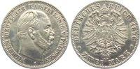2 Mark 1880 A Preussen Kaiser Wilhelm I. ss+  98,00 EUR  zzgl. 6,95 EUR Versand