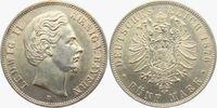 5 Mark 1876 D Bayern König Ludwig II. von Bayern (1864-1886) vz/st  498,00 EUR  zzgl. 6,95 EUR Versand