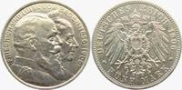5 Mark 1906 Baden Goldene Hochzeit f.st  198,00 EUR  zzgl. 6,95 EUR Versand