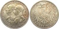 3 Mark 1915 A Mecklenburg-Schwerin Friedrich Franz IV. (1901-1918 f.st  279,00 EUR  zzgl. 6,95 EUR Versand