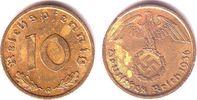 10 Pfennig 1936 G Drittes Reich 10 Reichspfennig ss/Rf.  269,00 EUR  zzgl. 6,95 EUR Versand
