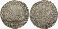 Taler 1579 Sachsen-Alt-Gotha - (Coburg-Eisenach) Johann Casimir und Joh... 598,00 EUR  zzgl. 6,95 EUR Versand