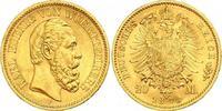 20 Mark 1873 F Württemberg König Karl von Württemberg f.st  698,00 EUR  zzgl. 6,95 EUR Versand