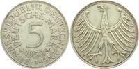 5 Mark 1958 J Deutschland 5 Mark - Silberadler ss  298,00 EUR  zzgl. 6,95 EUR Versand