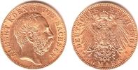 10 Mark 1901 E Sachsen König Albert von Sachsen vz/st  898,00 EUR  zzgl. 6,95 EUR Versand