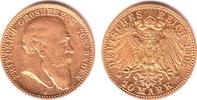 10 Mark 1902 G Baden Friedrich I. (1852-1907) vz/st  749,00 EUR  zzgl. 6,95 EUR Versand