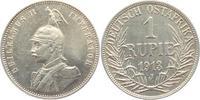 1 Rupie 1913 J Deutsch Ostafrika Guilelmus II. ss-vz min. RF  69,00 EUR  zzgl. 6,95 EUR Versand