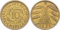 10 Reichspfennig 1931 A Weimarer Republik 10 Reichspfennig - Ährenbünde... 4,95 EUR  zzgl. 2,95 EUR Versand