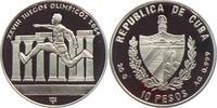 10 Pesos 2002 Kuba Olympische Spiele 2004 in Athen - Dreisprung PP  19,95 EUR  zzgl. 4,95 EUR Versand