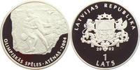 1 Lats 2002 Lettland Olympische Spiele 2004 in Athen - Ringen PP  29,95 EUR  zzgl. 4,95 EUR Versand