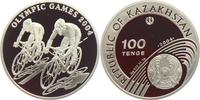100 Tenge 2004 Kasachstan Olympische Spiele 2004 in Athen - Radrennen PP  27,95 EUR  zzgl. 4,95 EUR Versand