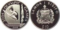 10 Dollar 2003 Samoa Olympische Spiele 2004 in Athen - Turmspringen PP  19,95 EUR  zzgl. 4,95 EUR Versand