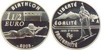 1 1/2 Euro 2005 Frankreich Olympische Spiele 2004 in Athen - Biathlon PP  24,95 EUR  zzgl. 4,95 EUR Versand