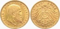 20 Mark 1902 F Württemberg König Wilhelm II. von Württemberg (1891-1918... 349,00 EUR  zzgl. 6,95 EUR Versand
