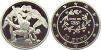 10 Euro 2004 Griechenland Olympische Spiele 2004 in Athen - Ringen - mi... 22,95 EUR  zzgl. 4,95 EUR Versand