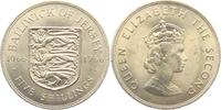 5 Shillings 1966 Jersey Wappen vz  4,95 EUR  zzgl. 2,95 EUR Versand