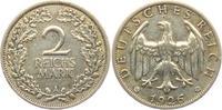2 Reichsmark 1926 A Weimarer Republik Reichsmark Kursmünze ss  9,95 EUR  zzgl. 2,95 EUR Versand