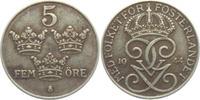 5 Öre 1944 Schweden Gustaf V. (1907 - 1950) vz  4,95 EUR  zzgl. 2,95 EUR Versand