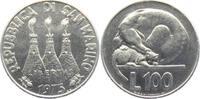 100 Lire 1975 San Marino Hund und Katze unc.  4,95 EUR  zzgl. 2,95 EUR Versand