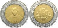 500 Lire 1984 San Marino Albert Einstein ss  3,95 EUR  zzgl. 2,95 EUR Versand
