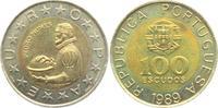 100 Escudos 1989 Portugal Pedro Nunes prägefrisch  7,95 EUR  zzgl. 2,95 EUR Versand