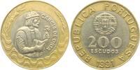 200 Escudos 1991 Portugal Garcia de Orta prägefrisch  4,95 EUR  zzgl. 2,95 EUR Versand
