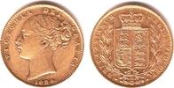 1 Sovereign 1884 M Australien Queeen Victoria (1837-1901) ss/vz  349,00 EUR  zzgl. 6,95 EUR Versand