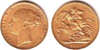 1 Sovereign 1879 M Australien Queeen Victoria (1837-1901) ss+  349,00 EUR  zzgl. 6,95 EUR Versand