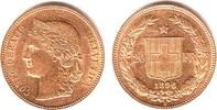 20 Franken 1896 Schweiz Kopf der Helvetia vz  247,00 EUR  zzgl. 6,95 EUR Versand