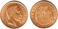20 Francs 1868 BB Frankreich Napoleon III. (1852-1870) vz/st/Rf.  319,00 EUR  zzgl. 6,95 EUR Versand