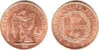20 Francs 1898 A Frankreich Stehender Genius prägefrisch  325,00 EUR  zzgl. 6,95 EUR Versand