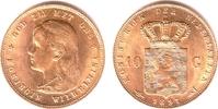 10 Gulden 1897 Niederlande Königin Wilhelmina (1890-1948)- Jugendportra... 319,00 EUR  zzgl. 6,95 EUR Versand