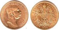 10 Kronen/Corona 1909 Österreich Kaiser Franz Joseph I. - ohne 'St.Schw... 169,00 EUR  zzgl. 6,95 EUR Versand