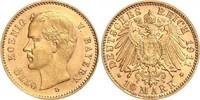 10 Mark 1911 D Bayern König Otto von Bayer...