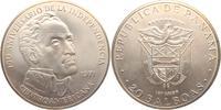 20  Balboas 1971 Panama 20 Balboas Silbermünze - Simon Bolivar st  89,00 EUR  zzgl. 6,95 EUR Versand