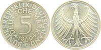 5 Mark 1969 F BRD Silberadler vz  7,95 EUR  zzgl. 2,95 EUR Versand