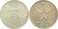 5 Mark 1969 J BRD Silberadler vz  6,00 EUR  zzgl. 2,95 EUR Versand