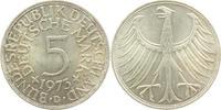 5 Mark 1973 D BRD Silberadler vz  6,00 EUR  zzgl. 2,95 EUR Versand